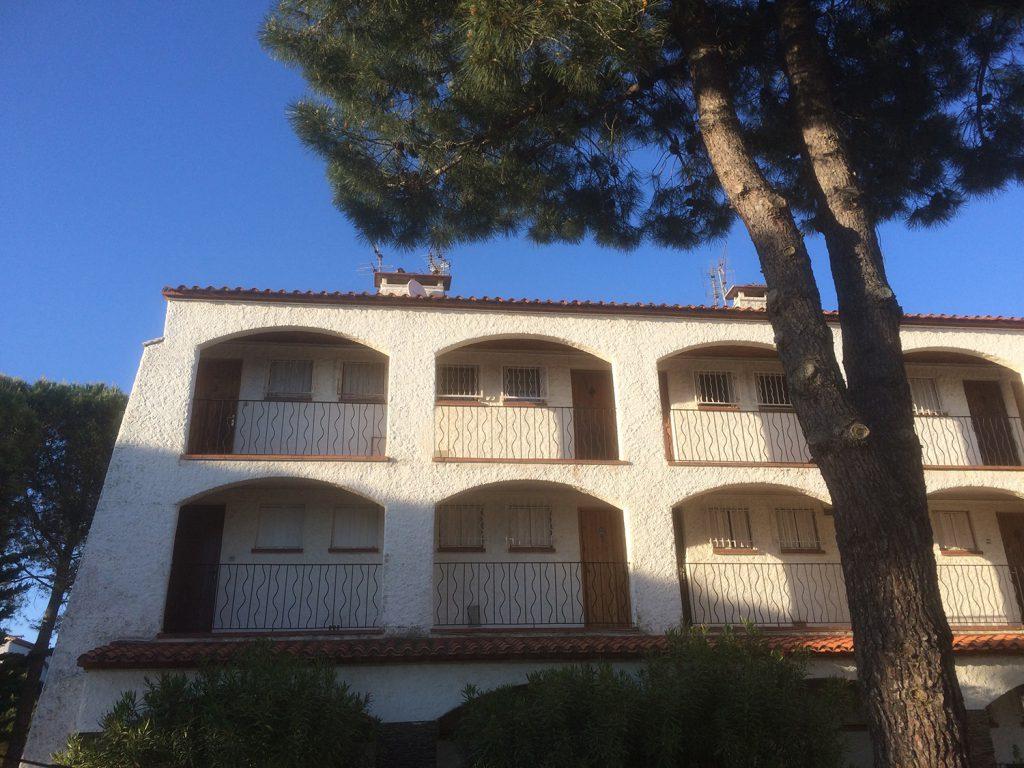 Une vue de la résidence
