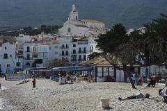 La plage de Cadaquès