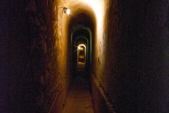 Le souterrain conduisant au fort Lagarde