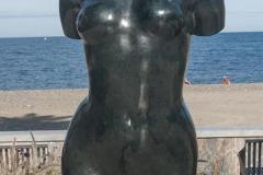 Une statue de Maillol sur le front de mer