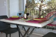 Déjeuner avec un excellent Collioure