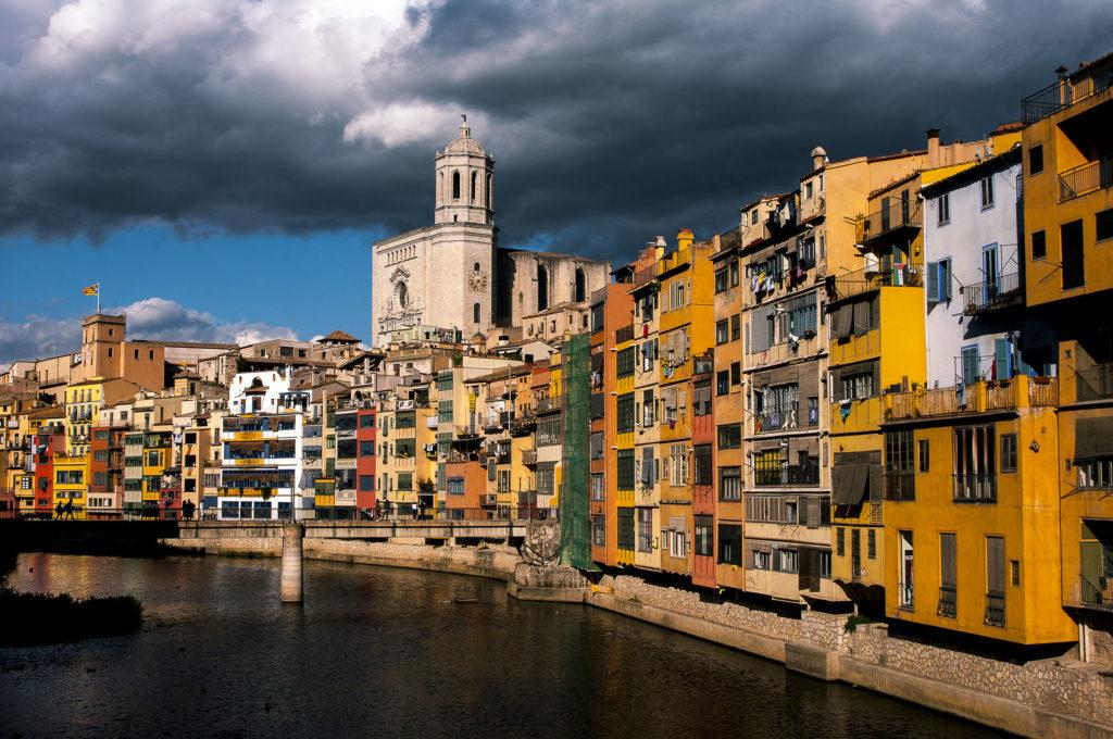 Girona un après midi d'Octobre